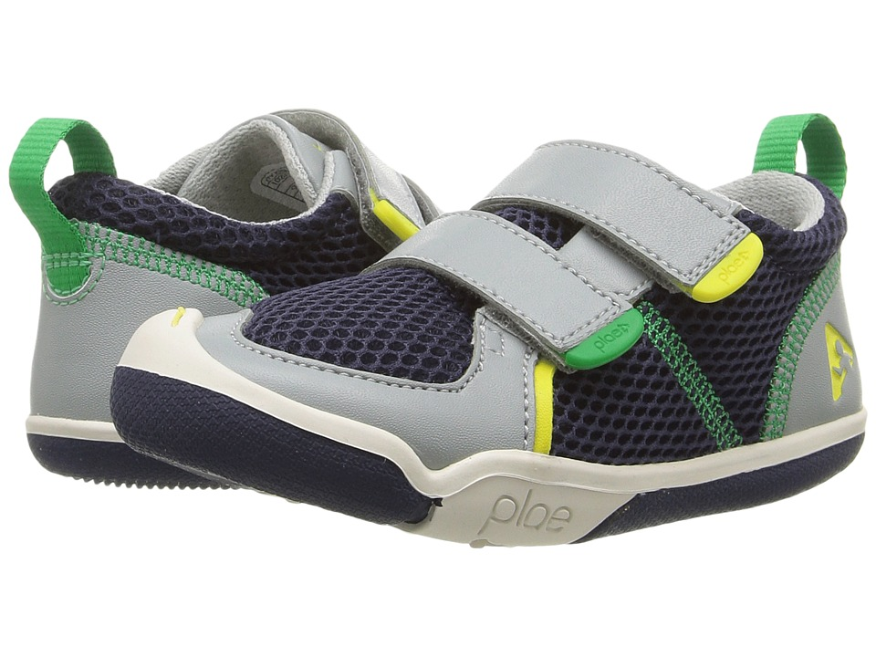 PLAE - Ty (Toddler/Little Kid) (Navy/Limestone) Boys Shoes