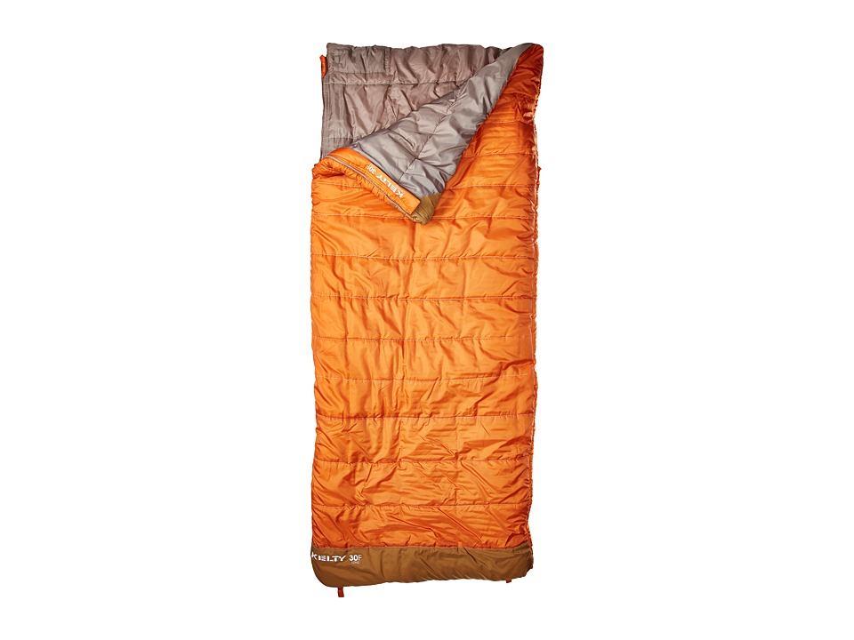 Kelty - Callisto 30 Degree Sleeping Bag - Long (Apricot Orange) Outdoor Sports Equipment