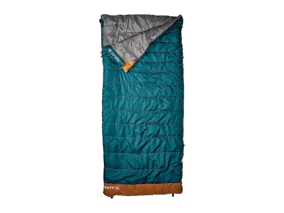 Kelty - Callisto 30 Degree Sleeping Bag - Regular (Deep Teal) Outdoor Sports Equipment