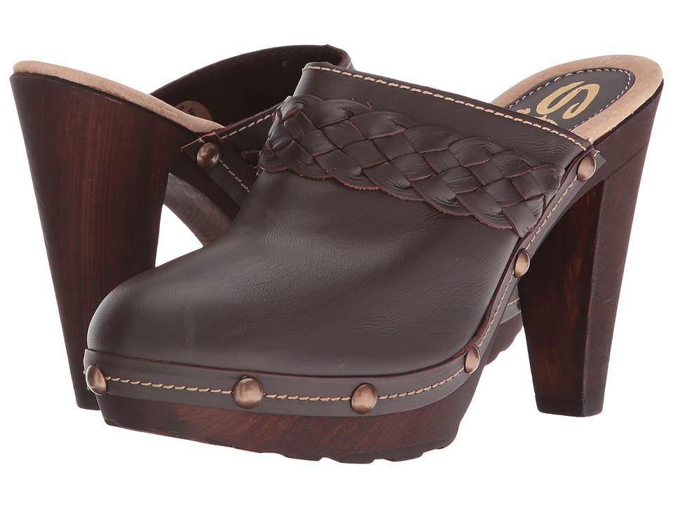Sbicca Thalia (Brown) High Heels
