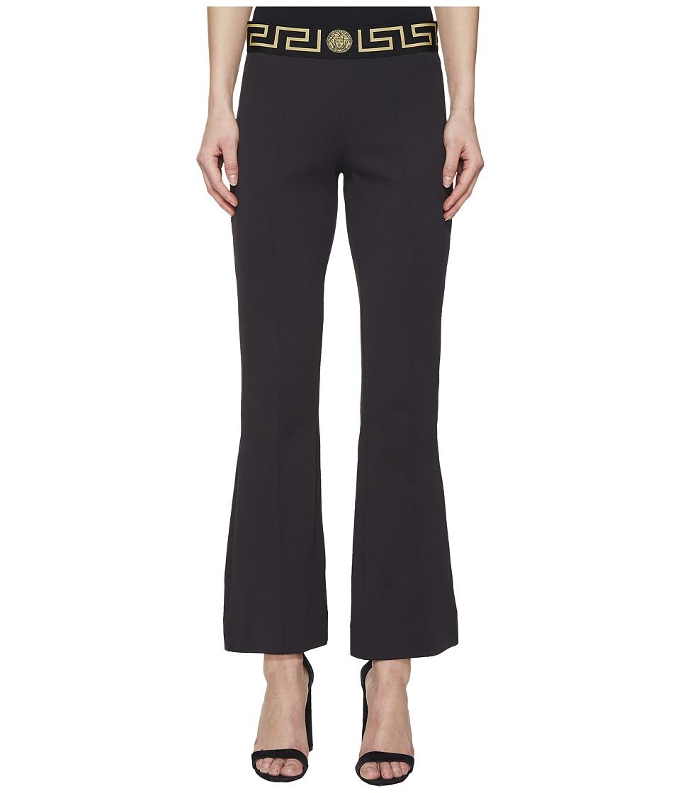 Versace - Tute Intimo Pantalone Pants (Nero) Womens Pajama