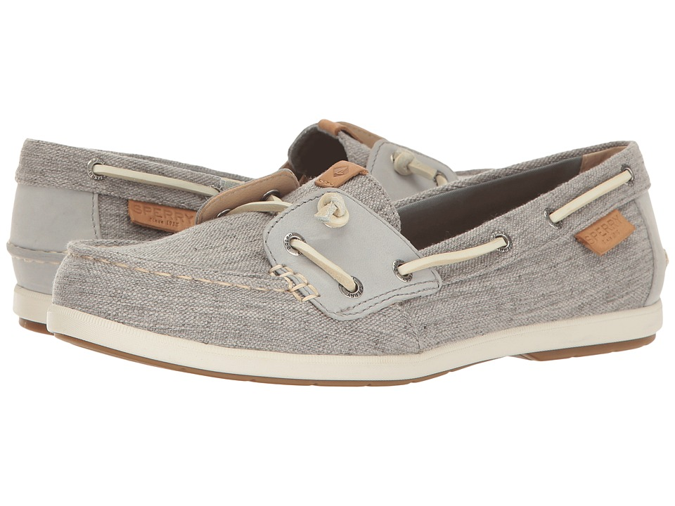 Sperry Coil Ivy Canvas (Grey) Women
