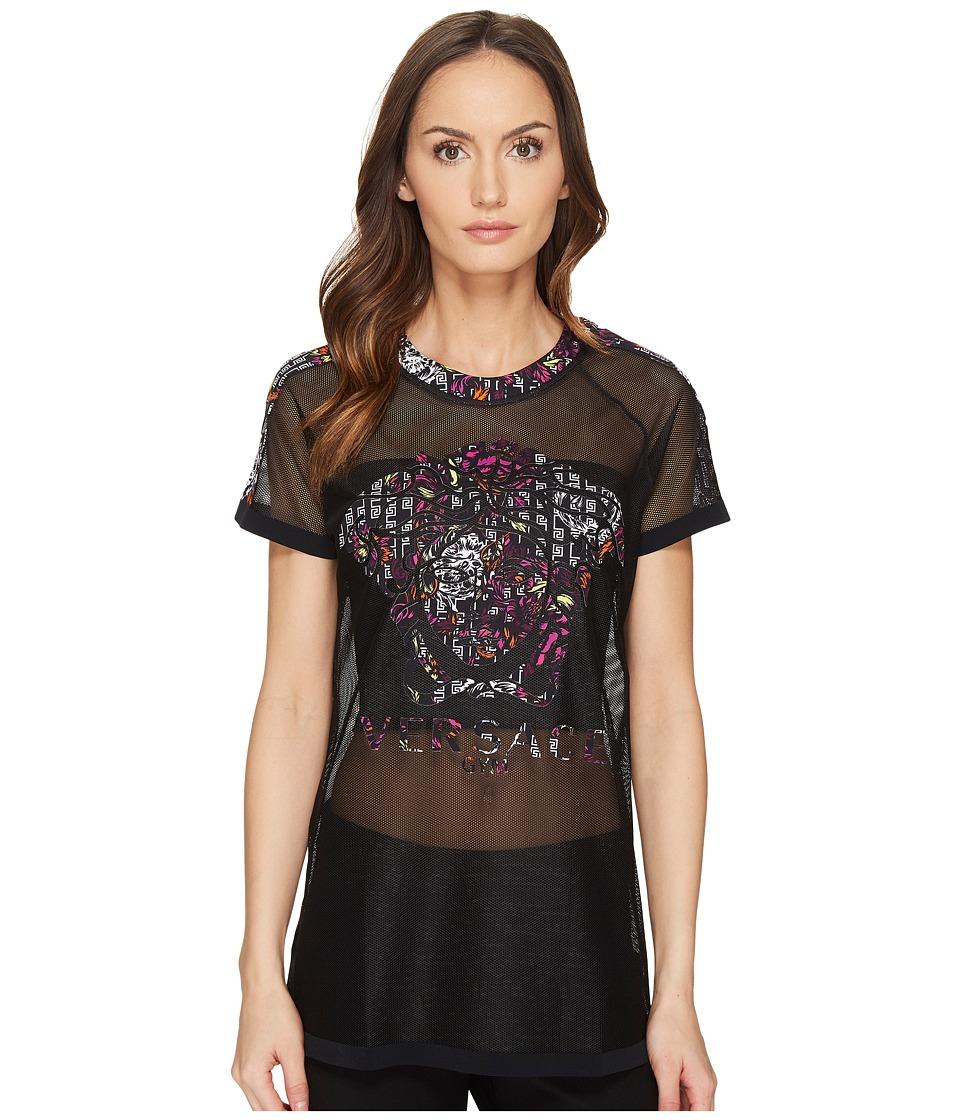 Versace T-Shirts Intimo T-Shirt Mare Caftan Girocollo (Nero) Women