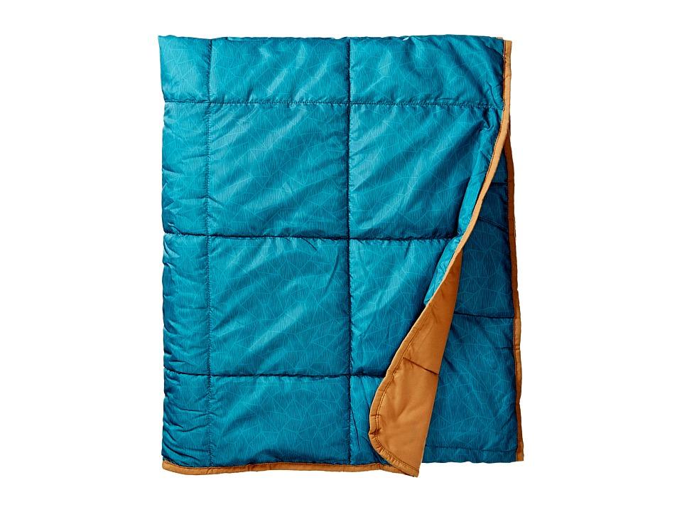 Kelty - Bestie Blanket (Geo Heather/Canyon Brown) Outdoor Sports Equipment