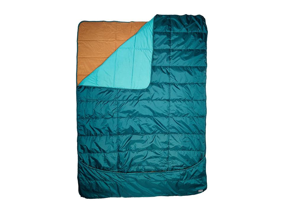 Kelty - Shindig Camp Blanket (Deep Teal/Latigo Bay) Outdoor Sports Equipment