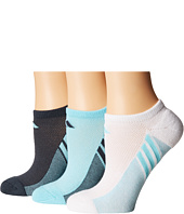 adidas - climacool® Superlite 3-Pack No Show Socks