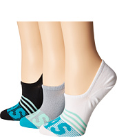 adidas - adiStripe 3-Pack Super No Show