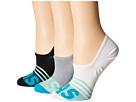 adidas - adiStripe 3-Pack Super No Show