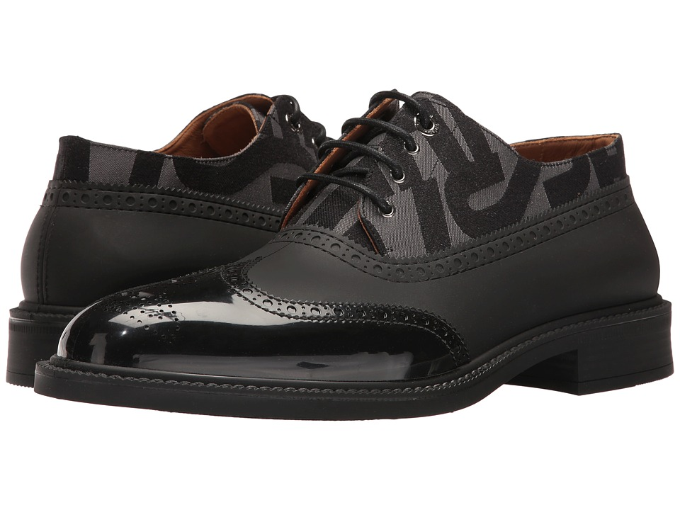 Vivienne Westwood Plastic Lace-Up Brogue (Black/Anglomania) Men