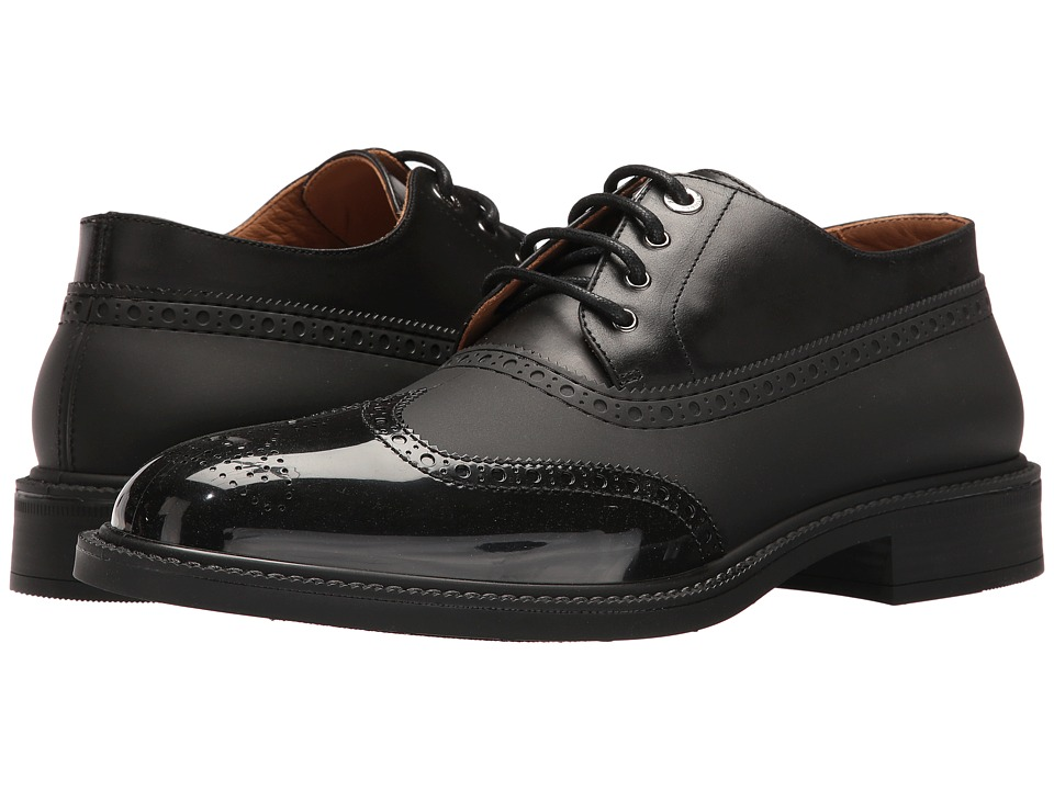 Vivienne Westwood Plastic Lace-Up Brogue (Black) Men