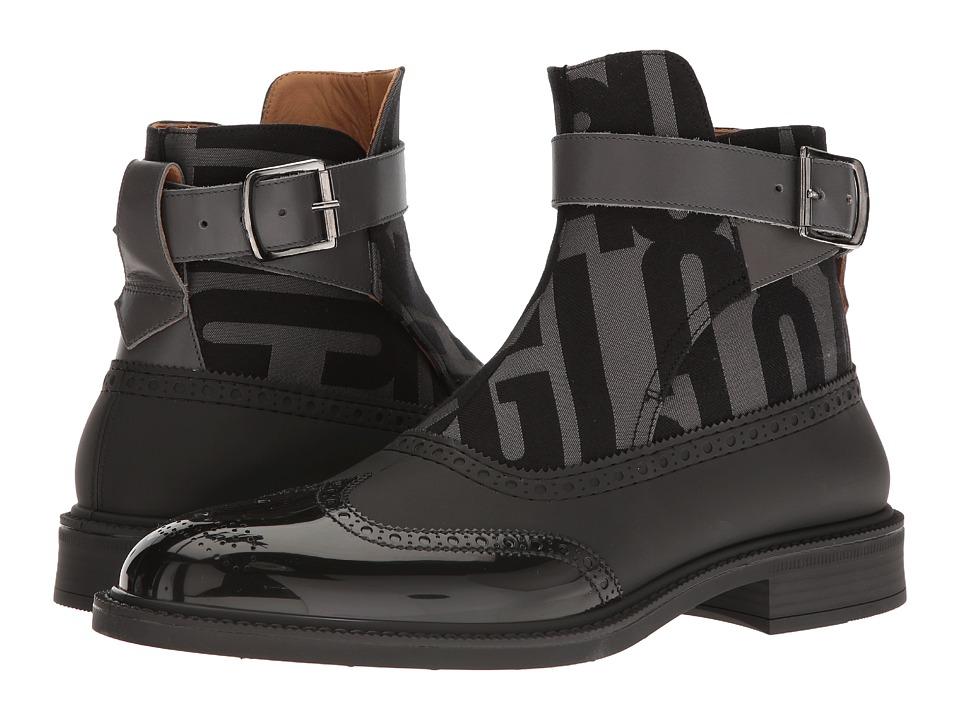 Vivienne Westwood Plastic Jodhpur Boot (Black/Anglomania) Men