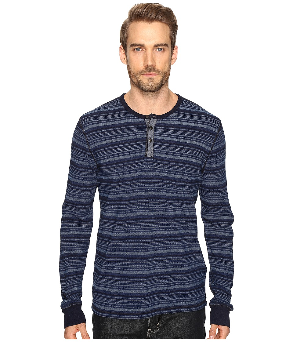 Lucky Brand Lived-In Henley (Indigo) Men