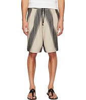 Vivienne Westwood - Linen Stripe Samurai Shorts