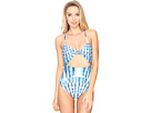 Shells Tie Front One-Piece