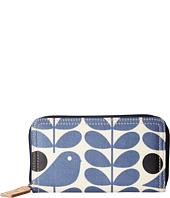 Orla Kiely - Early Bird Print Big Zip Wallet