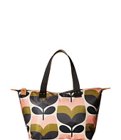 Orla Kiely - Stripe Rosebud Small Zip Shopper