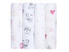 aden + anais aden + anais Classic Swaddling 4-Pack