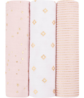 aden + anais - Metallic Swaddle 3-Pack