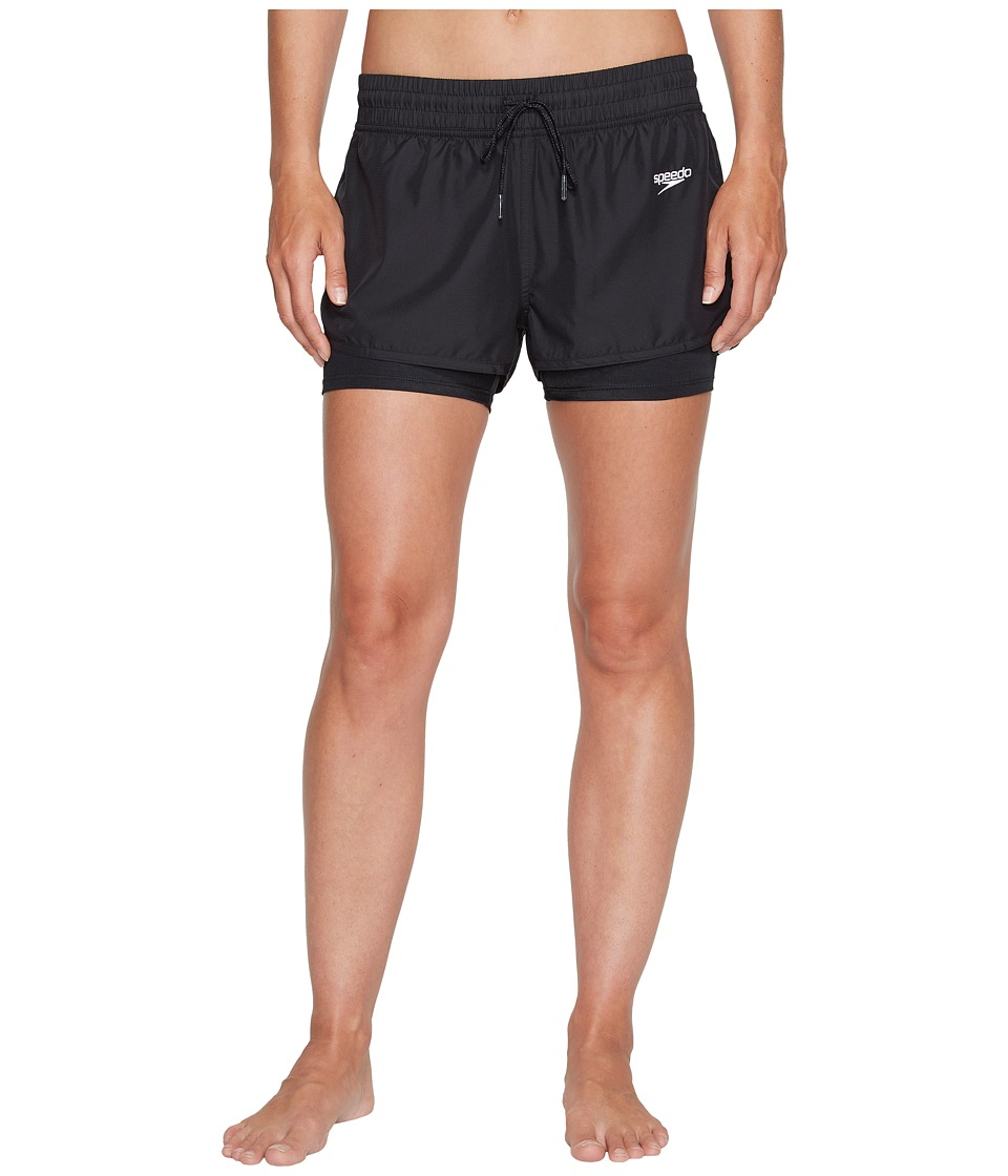 Speedo Hydro Volley Shorts (Speedo Black) Women