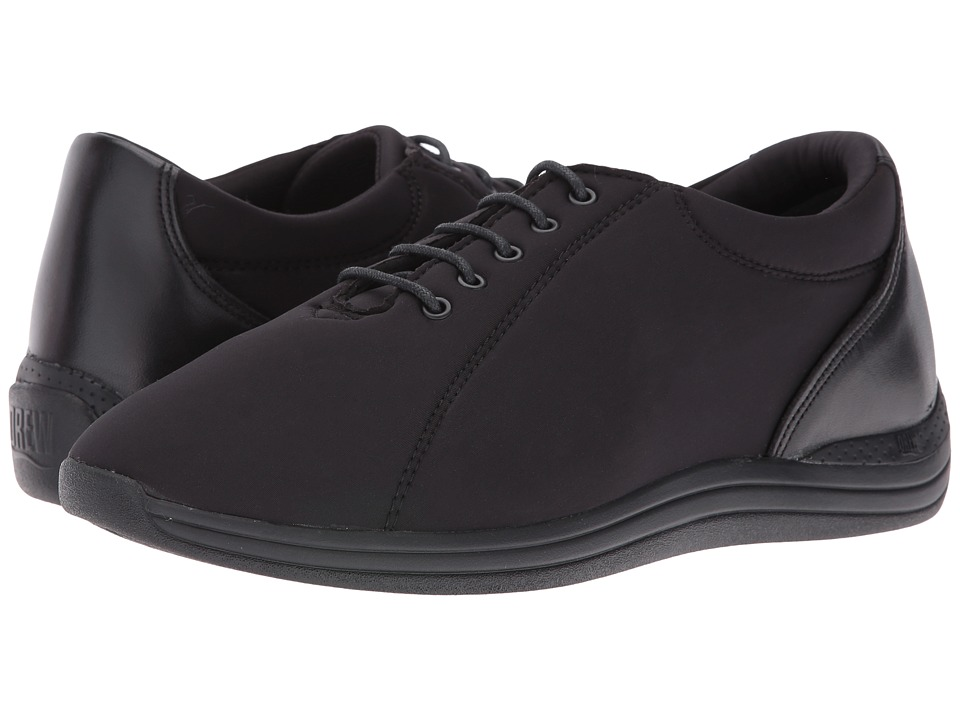 Drew - Tulip (Black Calf/Black Stretch) Womens  Shoes