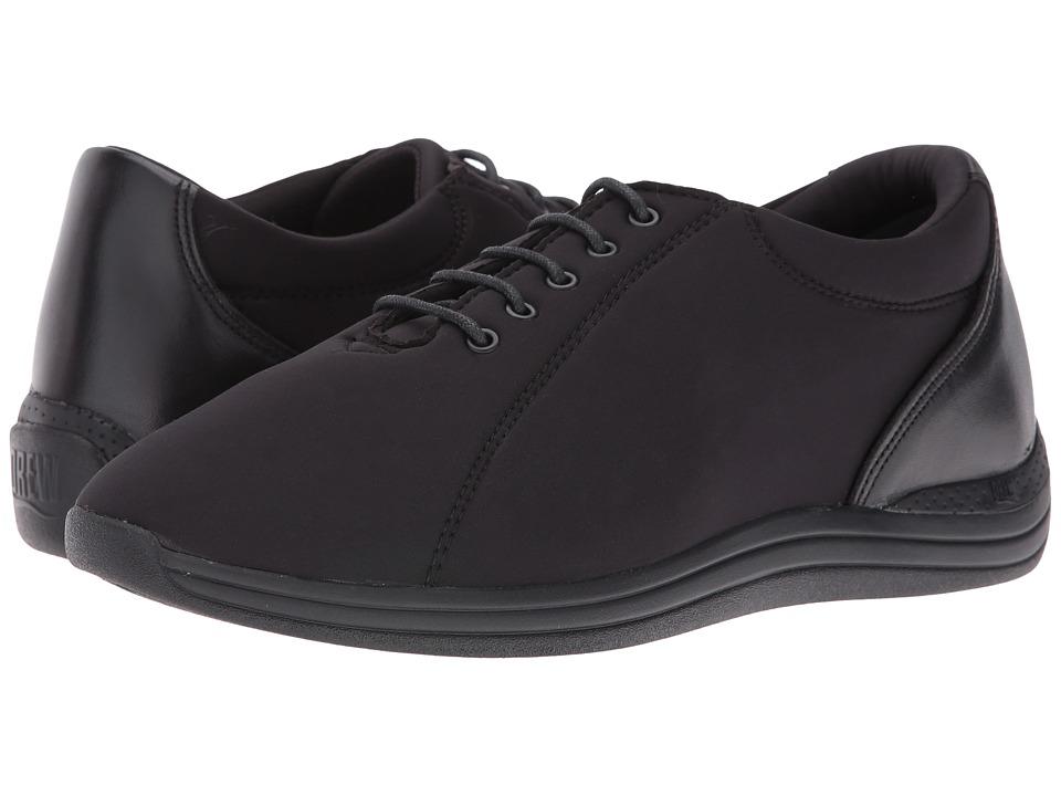 Drew Tulip (Black Calf/Black Stretch) Women's Shoes