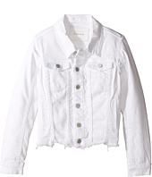 Blank NYC Kids - Cut Off Detailed Jacket in Whisper White (Big Kids)
