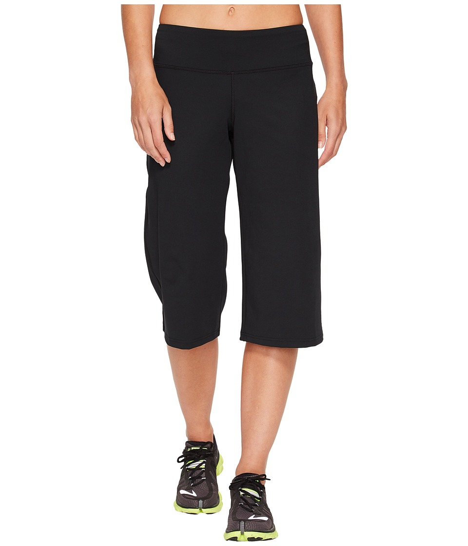 Brooks - Greenlight Relaxed Capri Pants (Black) Womens Workout