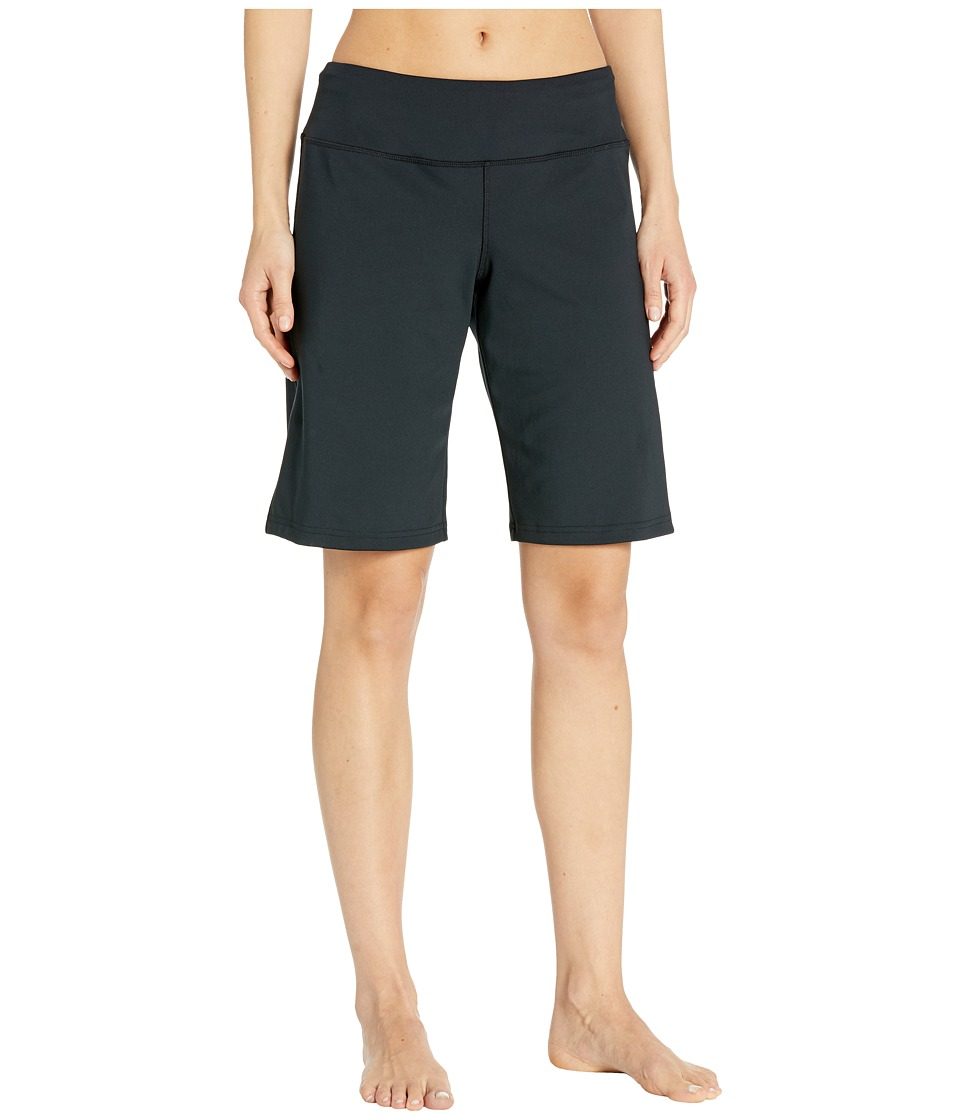 Brooks - Greenlight Relaxed 11 Shorts (Black) Womens Shorts