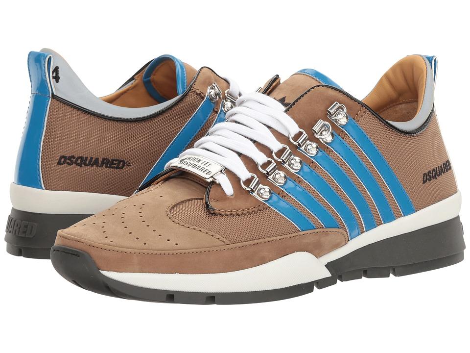 DSQUARED2 251 Sneaker (Beige/Blue) Men
