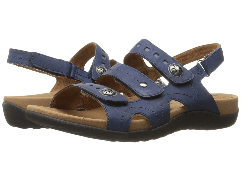 Rockport Cobb Hill Collection Cobb Hill Ridge 3 Band Sling (Navy) Women