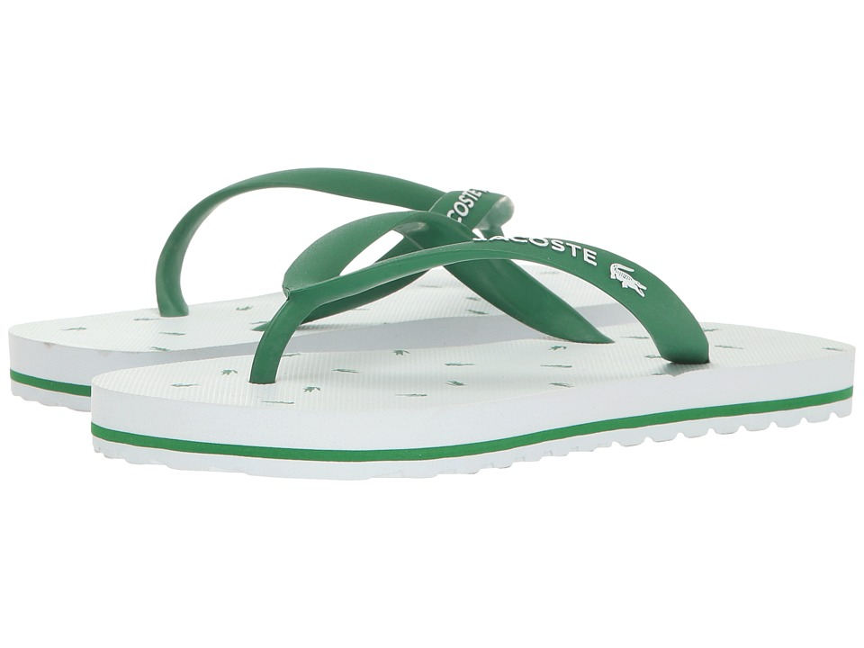 Lacoste Kids - Nosara 116 1 (Infant/Toddler) (White/Green) Kids Shoes