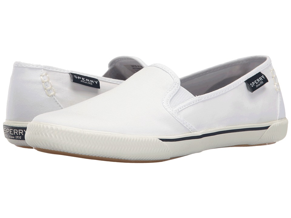 Sperry Quest Cay Canvas (White) Women
