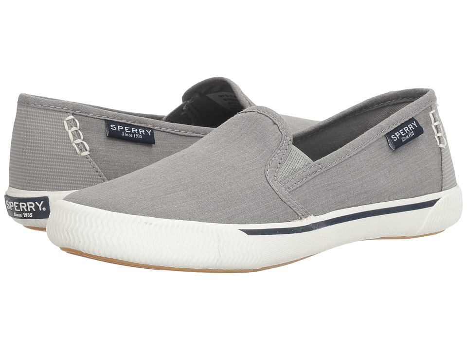 Sperry Quest Cay Canvas (Grey) Women