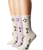 Kate Spade New York - Music Note 3-Pack Crew