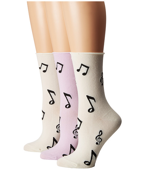 Kate Spade New York Music Note 3-Pack Crew