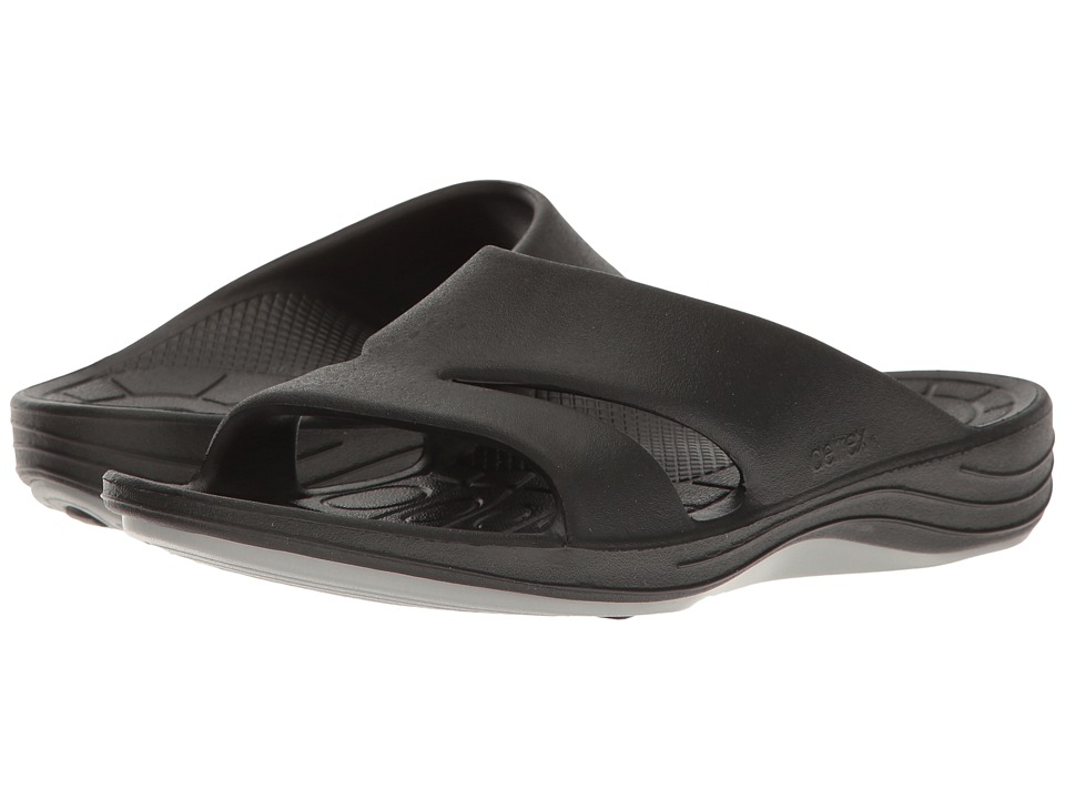 Aetrex Lynco Slide (Black) Sandals