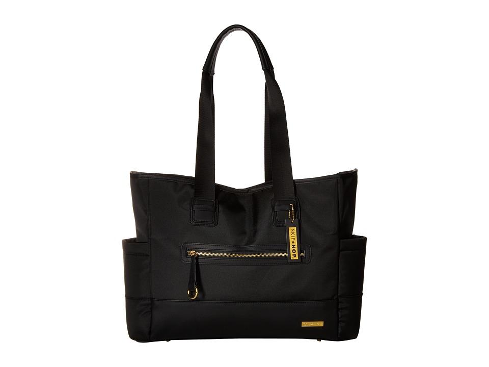 Skip Hop - Chelsea 2-1 Diaper Bag Tote (Black) Diaper Bags
