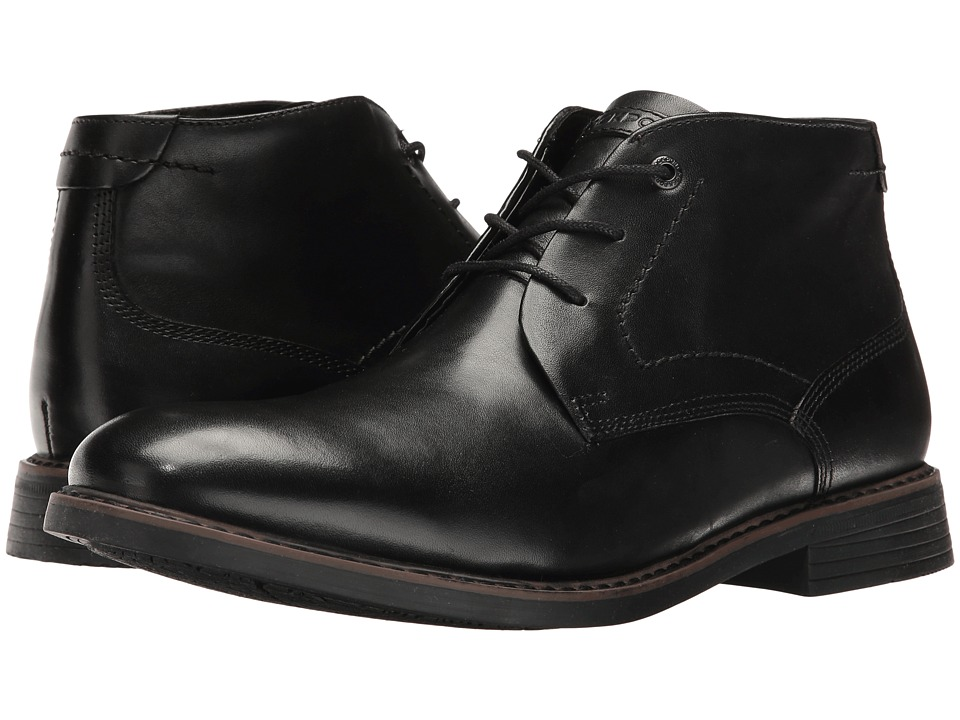 Rockport Classic Break Chukka (Black Leather) Men's Boots