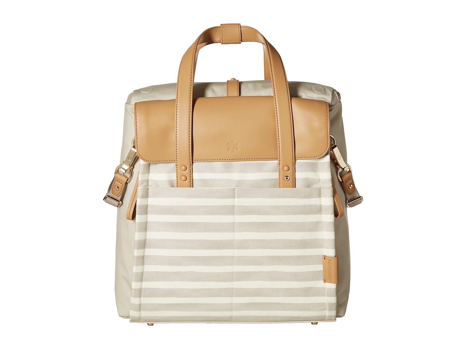 skip hop highline convertible diaper bag backpack oyster. Black Bedroom Furniture Sets. Home Design Ideas