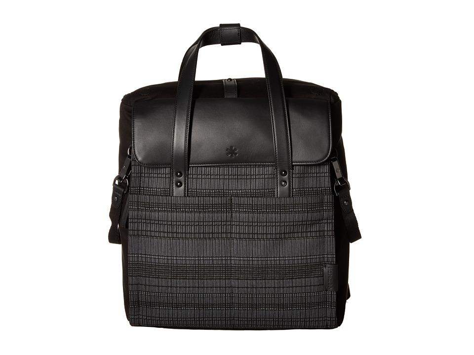 Skip Hop - Highline Convertible Diaper Bag Backpack (Black Granite) Diaper Bags