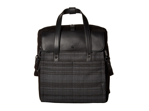 Skip Hop Highline Convertible Diaper Bag Backpack - Black Granite