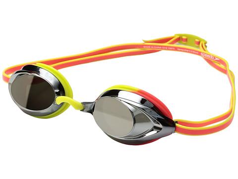 Speedo Vanquisher 2.0 Mirrored Goggle - Citrus Green