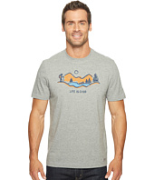 Life is good - Hike Mountain Vista Crusher Tee