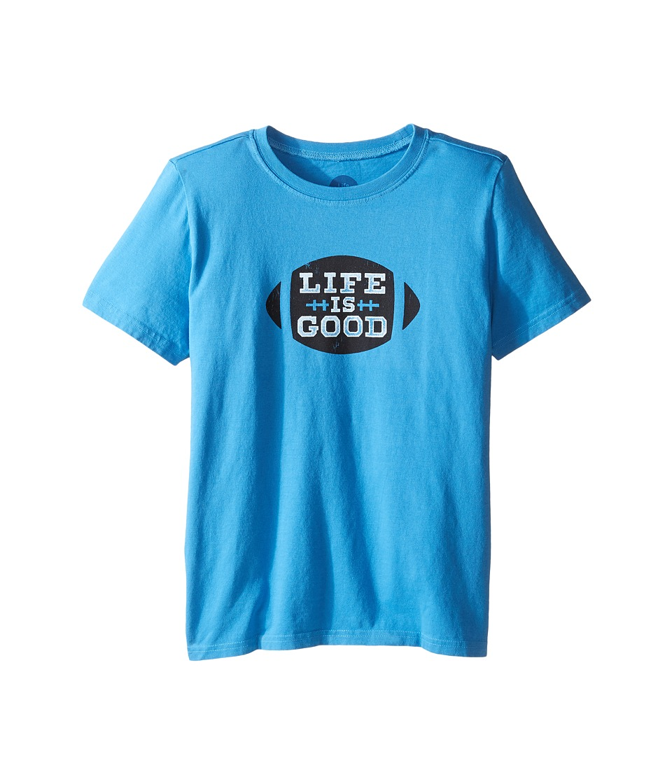Life is Good Kids - Football Tee
