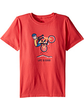Life is good Kids - Mountain Bike Tee (Little Kids/Big Kids)