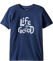 Life is good Kids - Bike Tee (Little Kids/Big Kids)