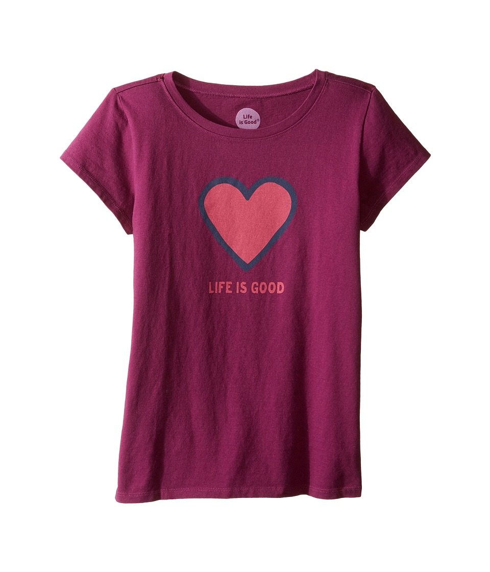 Life is Good Kids - Heart Tee