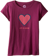 Life is Good Kids - Heart Tee (Little Kids/Big Kids)