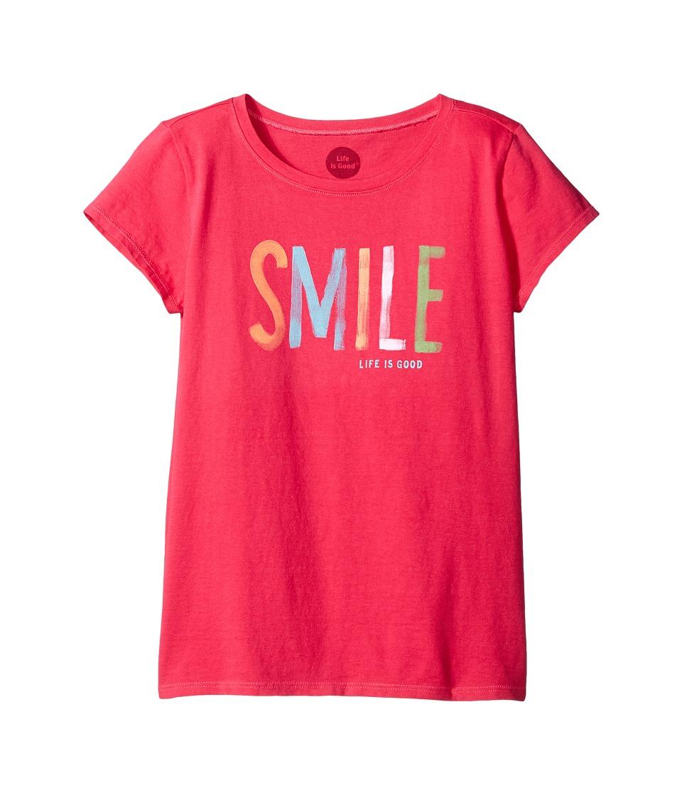 Life is Good Kids - Smile Painted Tee