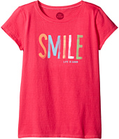 Life is Good Kids - Smile Painted Tee (Little Kids/Big Kids)
